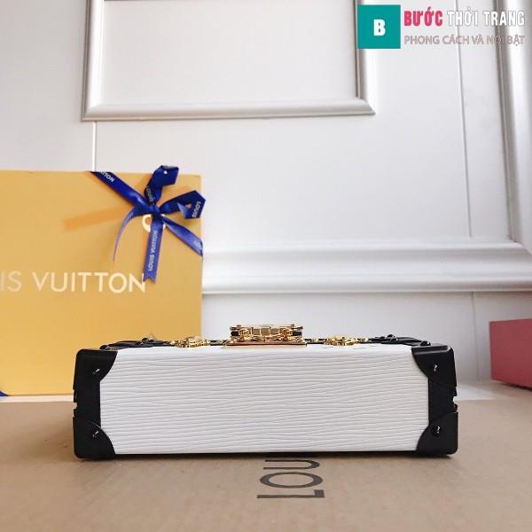 Túi xách LV Petite Malle siêu cấp màu trắng size 20 cm - M40273