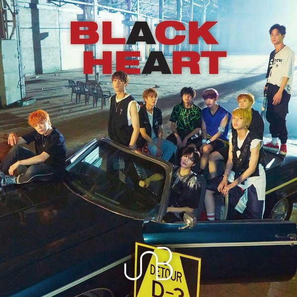 Download UNB - BLACK HEART - EP Mp3
