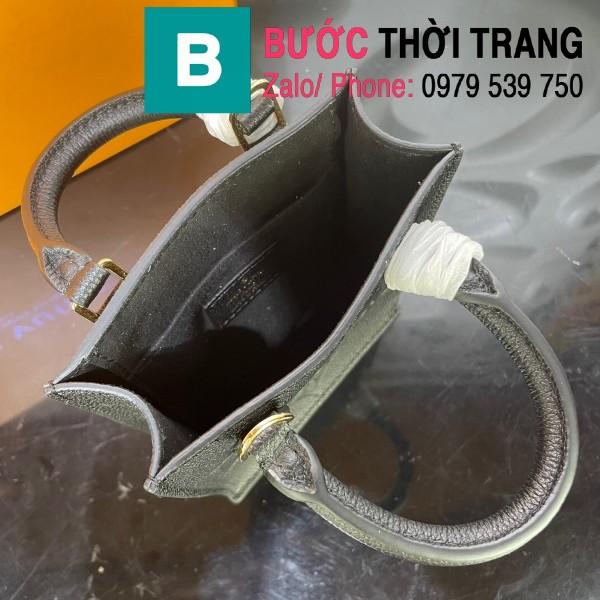 Túi xách LV Louis Vuitton Petit sac plat siêu cấp monogram màu đen size 14cm - M80449