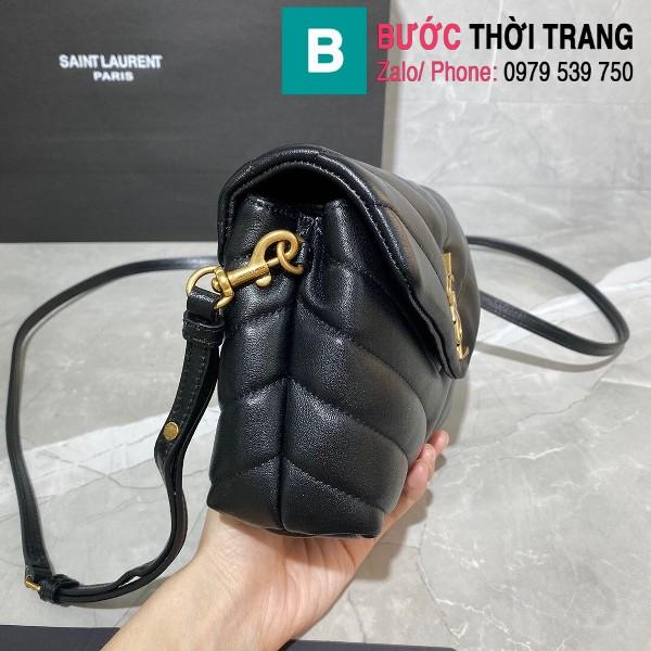Túi xách YSL Saint Laurent LouLou bag siêu cấp màu đen size 20cm - 467072