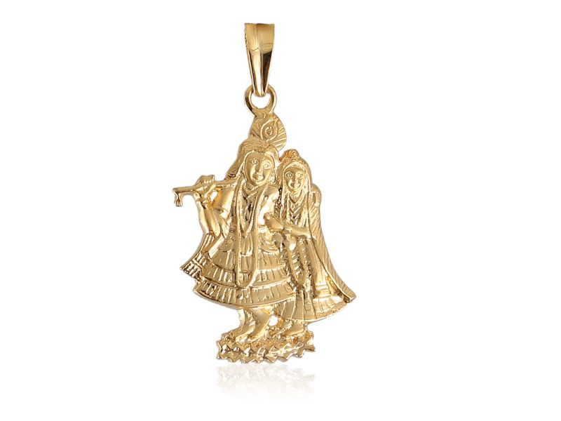Beautiful unisex radha krishna pendant in solid certified 22karat beautiful unisex radha krishna pendant in solid certified 22karat yellow gold perfect gift for all occasions aloadofball Choice Image