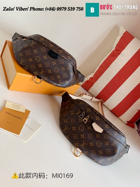 Túi Louis Vuitton Bumbag Monogram Canvas - LV M43644