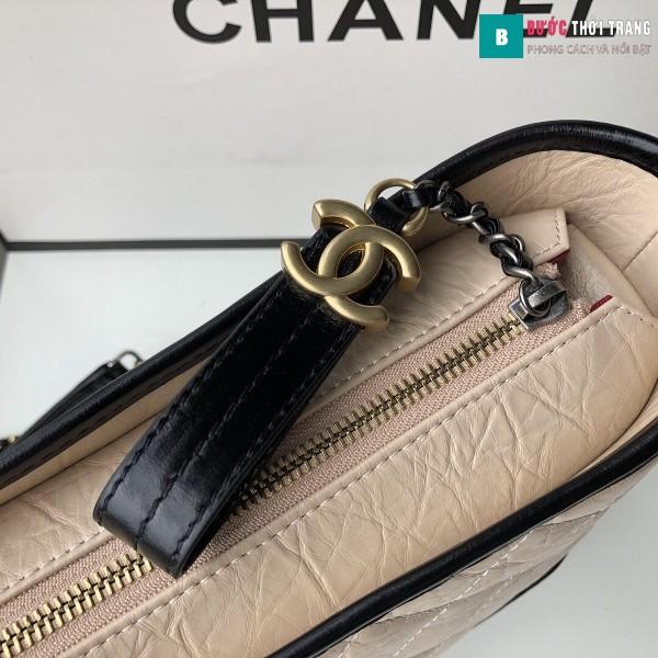 Túi xách Chanel Gabrielle hobo bag siêu cấp màu da size 28cm - 93824