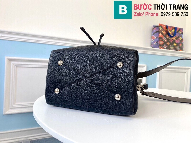 Túi xách Louis Vuitton Muria siêu cấp da bê màu đen size 25 cm - M55800