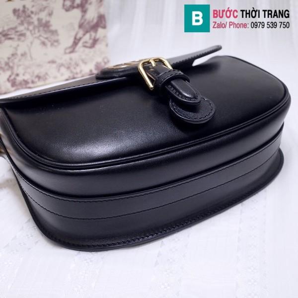 Túi xách Dior bobby siêu cấp da bê màu đen size 18 cm