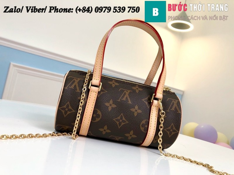 Túi Louis Vuitton Monogram Papillon Case Ladies - M40723