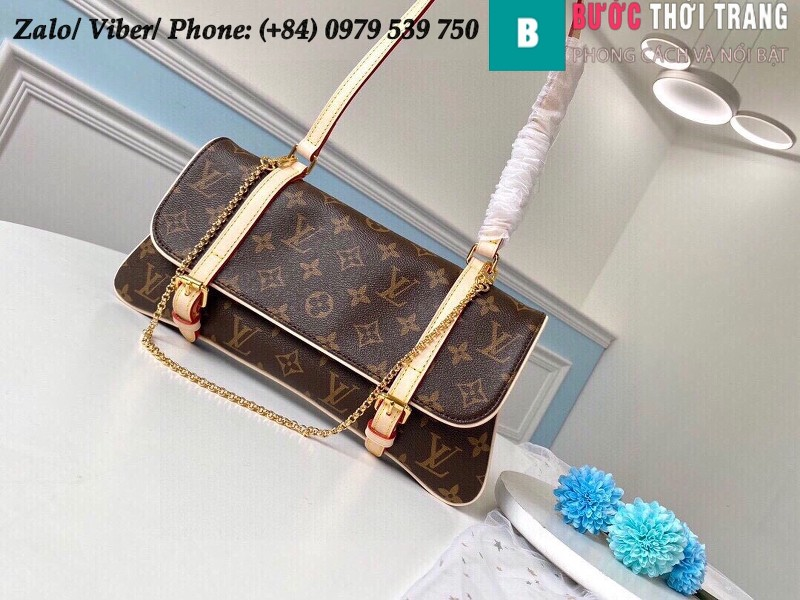 Túi Louis Vuitton Vintage Monogram Canvas Shoulder - LV M51162