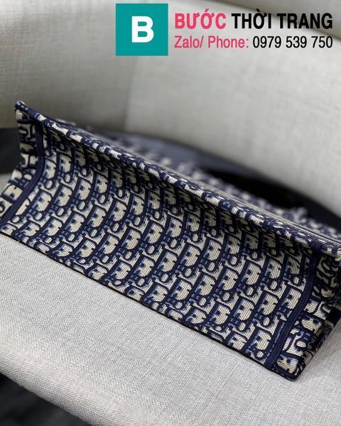 Túi xách Dior Book Tote siêu cấp chất liệu vải casvan màu 1 size 36.5cm - M1286