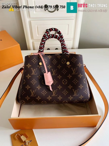 Túi Louis Vuitton Montaigne BB Monogram Canvas - LV M44671