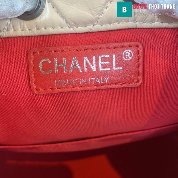 Túi xách Chanel Gabrielle Backpack siêu cấp màu da size 24cm - A94485