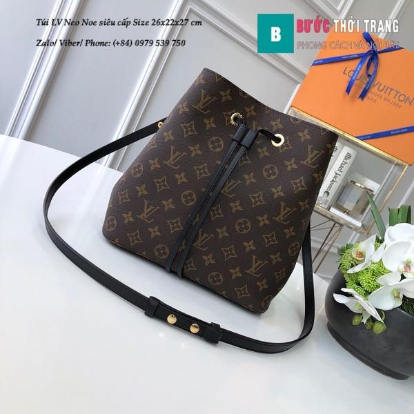 Túi xách LV Louis Vuitton Neo Noe siêu cấp dây màu đen size 26cm - M44020