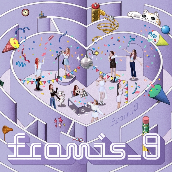 Download [Full Album] FROMIS_9 - FROM.9 Mp3 Album Cover