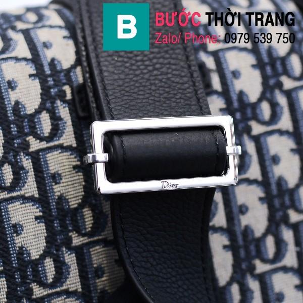 Túi xách Dior Oblique Bag siêu cấp cỡ lớn vải casvan màu 1 size 33cm