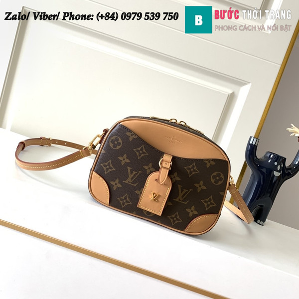 Túi Louis Vuitton Deauville Mini Monogram - LV M45528