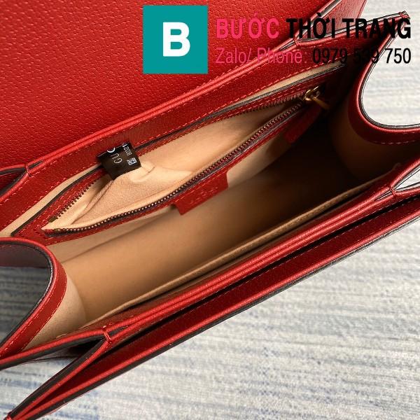 Túi xách Gucci Queen Margaret GG siêu cấp casvan viền đỏ size 25.5cm - 476541