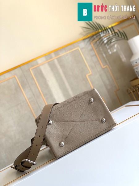 Túi xách LV Louis Vuitton Muria siêu cấp màu Galet size 25 cm - M55799