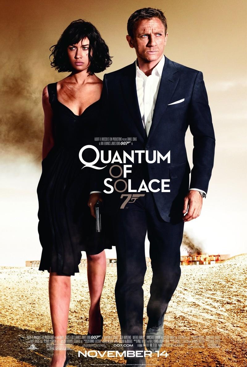 James Bond 007 Quantum Of Solace Poster