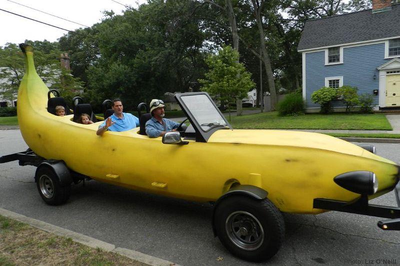 Steve Braithwaite Big Banana Car Bananamobile