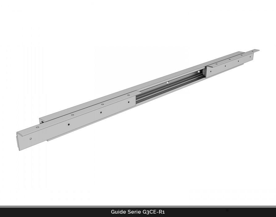 Guide per tavoli allungabili modello G3Ce-R1 - STM Italy