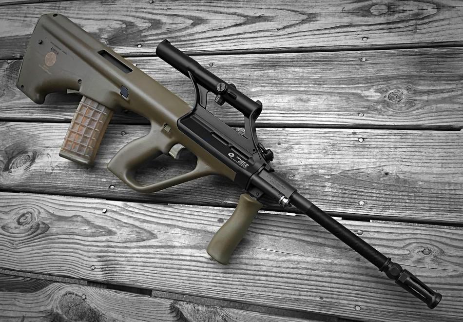 Steyr AUG (STG77) - AR15 COM
