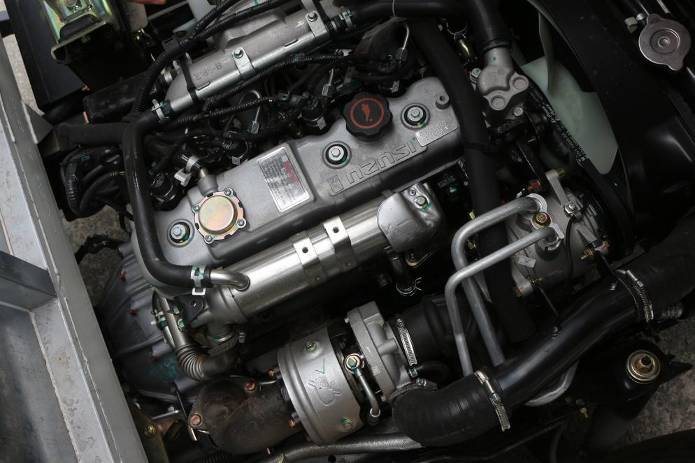 Động cơ xe hyundai iz49 mui bạt