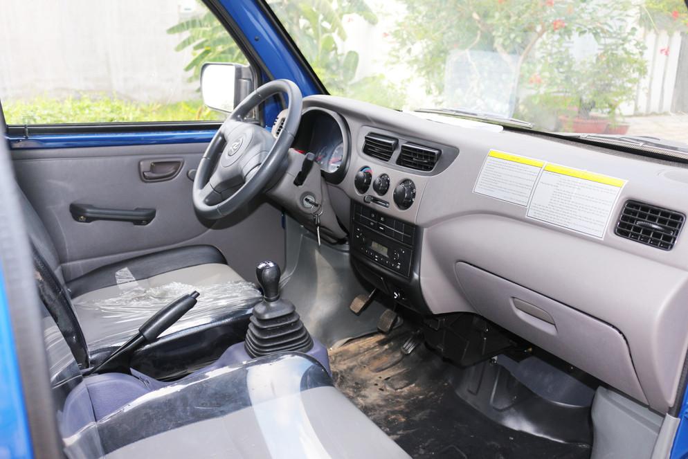 Cabin xe tải dongben 810kg thùng mui bạt - ô tô tải mới