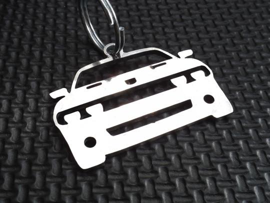 Dodge SRT-8 Chrome Cable Key Chain