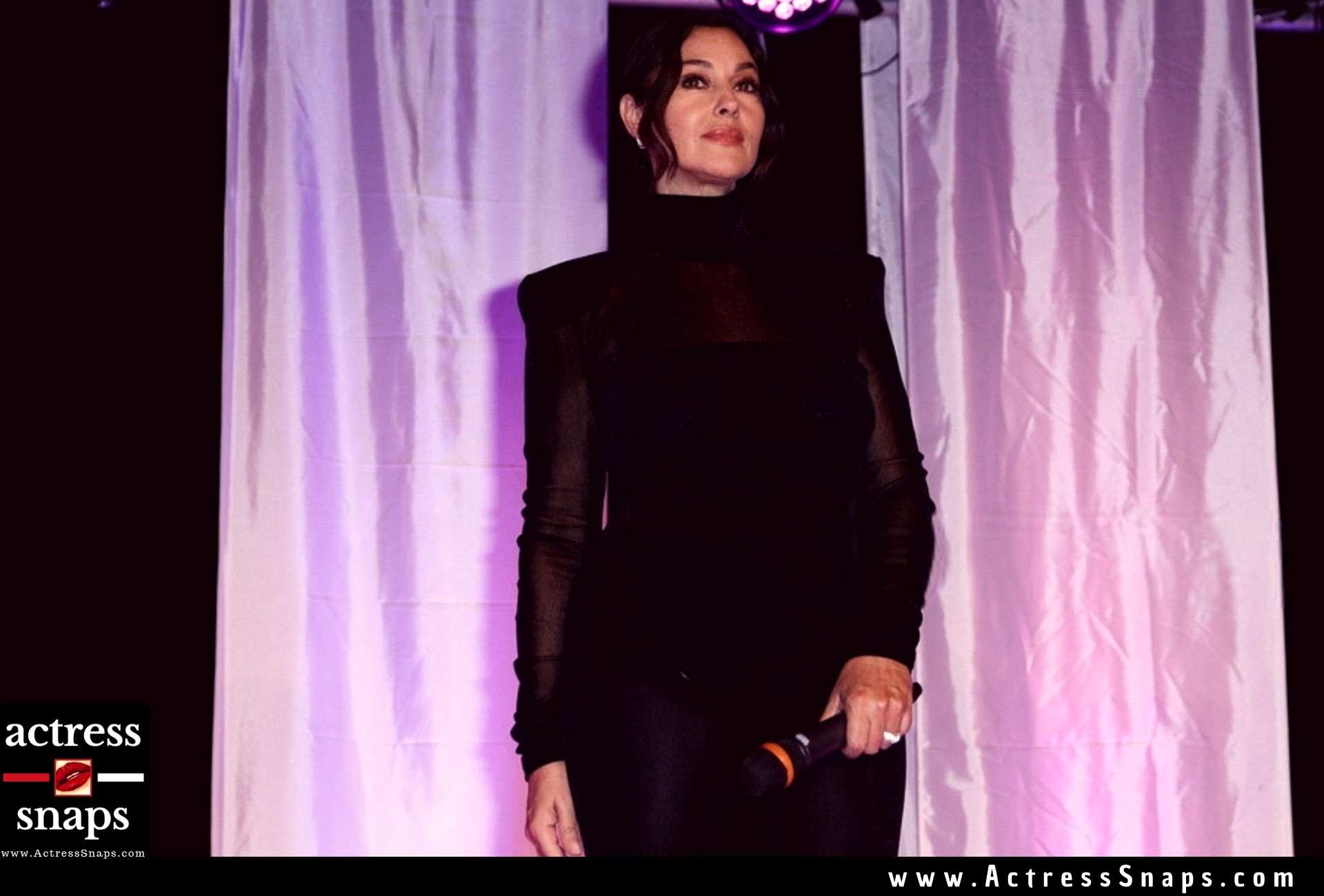 Monica Bellucci at Dinard Film Festival Opening - Sexy Actress Pictures | Hot Actress Pictures - ActressSnaps.com
