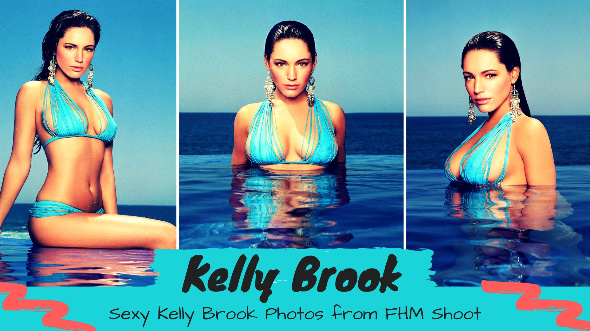 Sexy Kelly Brook - FHM Magazine Photo Shoot - Sexy Actress Pictures | Hot Actress Pictures - ActressSnaps.com