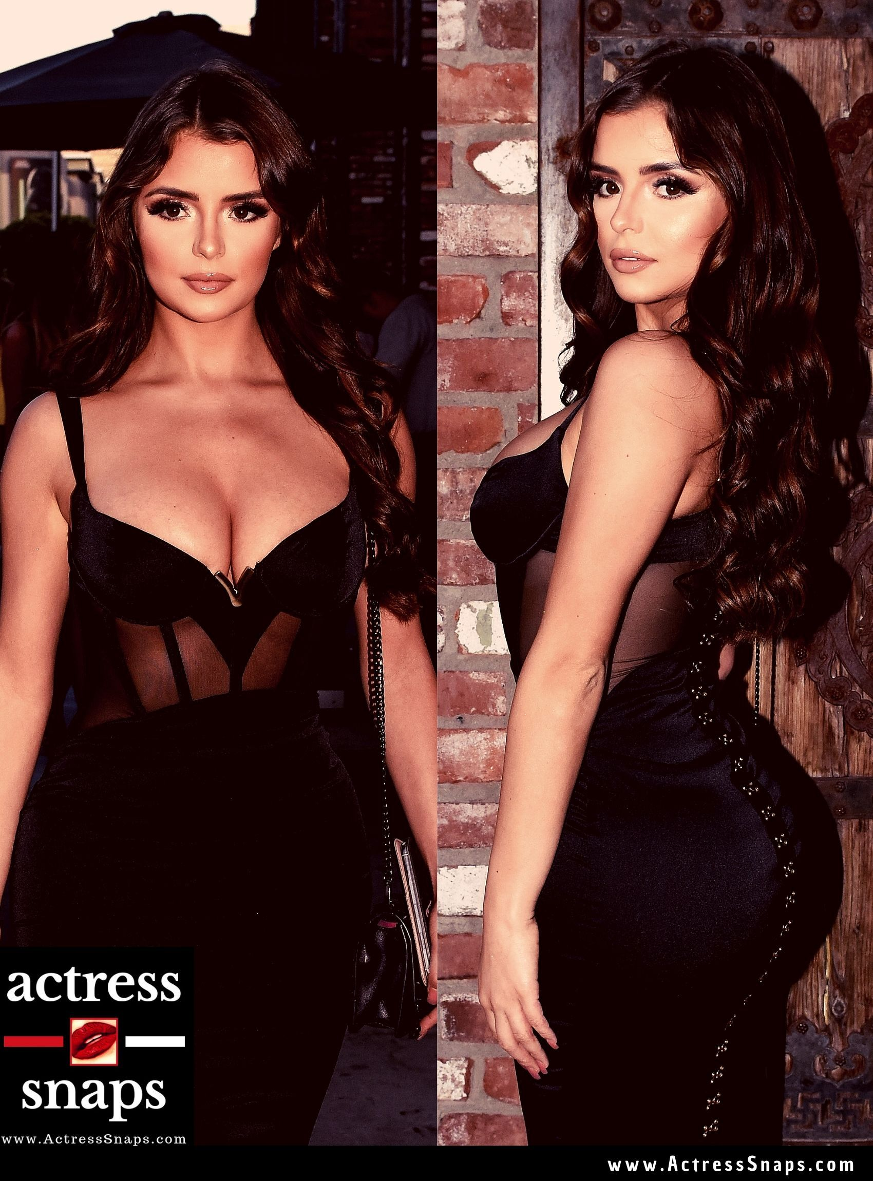 Demi Rose Mawby - Sexy in Black Dress - Sexy Actress Pictures | Hot Actress Pictures - ActressSnaps.com