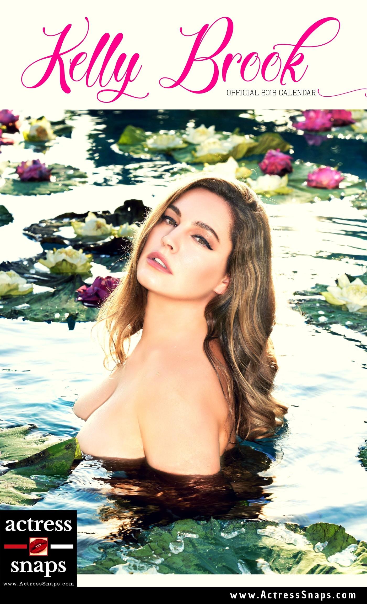 Kelly Brook - 2019 Calendar Photo Shoot - Sexy Actress Pictures | Hot Actress Pictures - ActressSnaps.com
