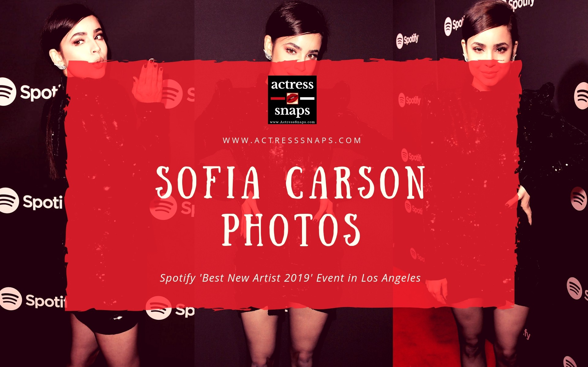 Sofia Carson - Spotify 'Best New Artist 2019' - Sexy Actress Pictures | Hot Actress Pictures - ActressSnaps.com