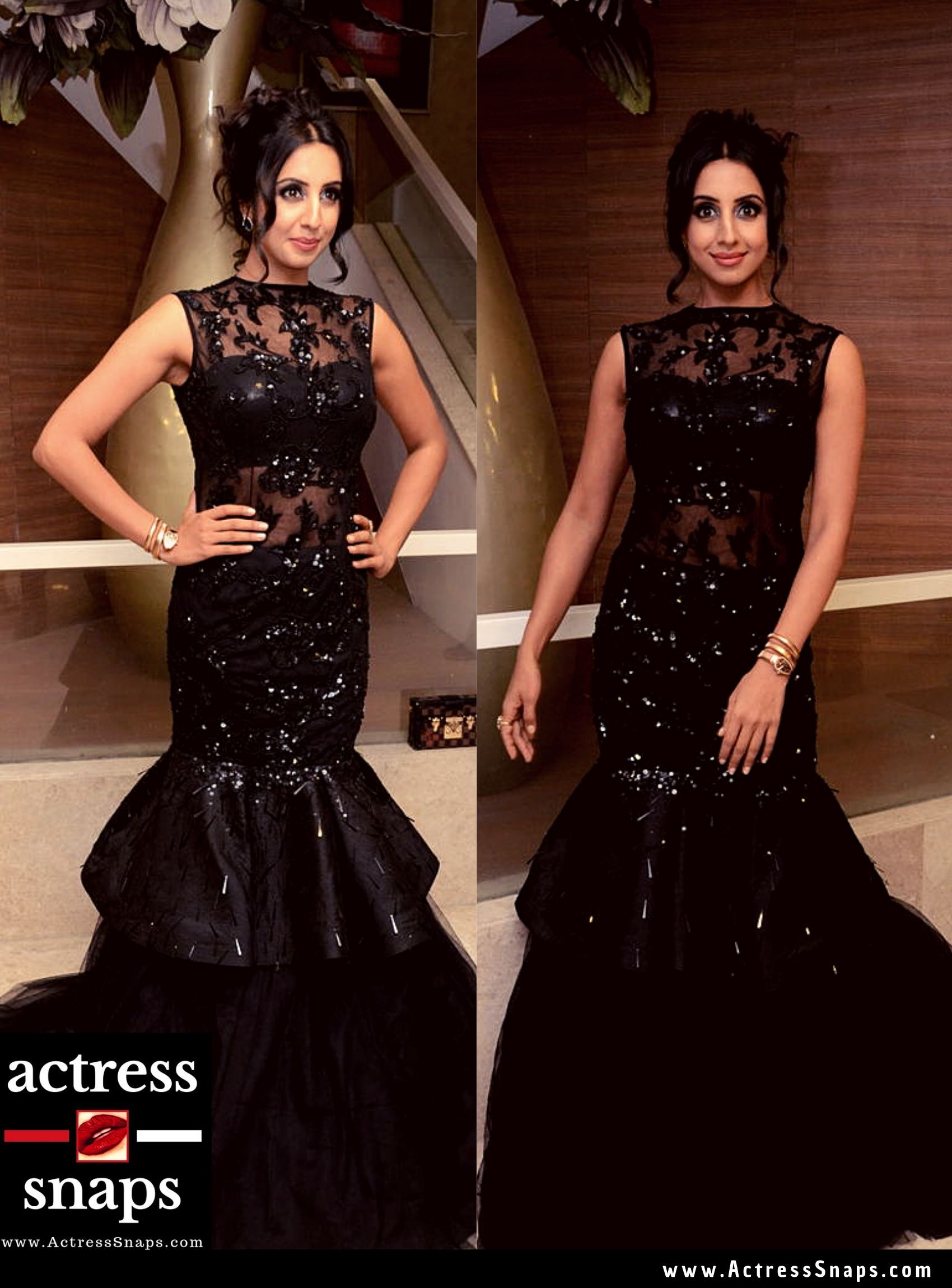 Sanjjanaa Galrani @ Hair Crush Salon Opening - Sexy Actress Pictures | Hot Actress Pictures - ActressSnaps.com