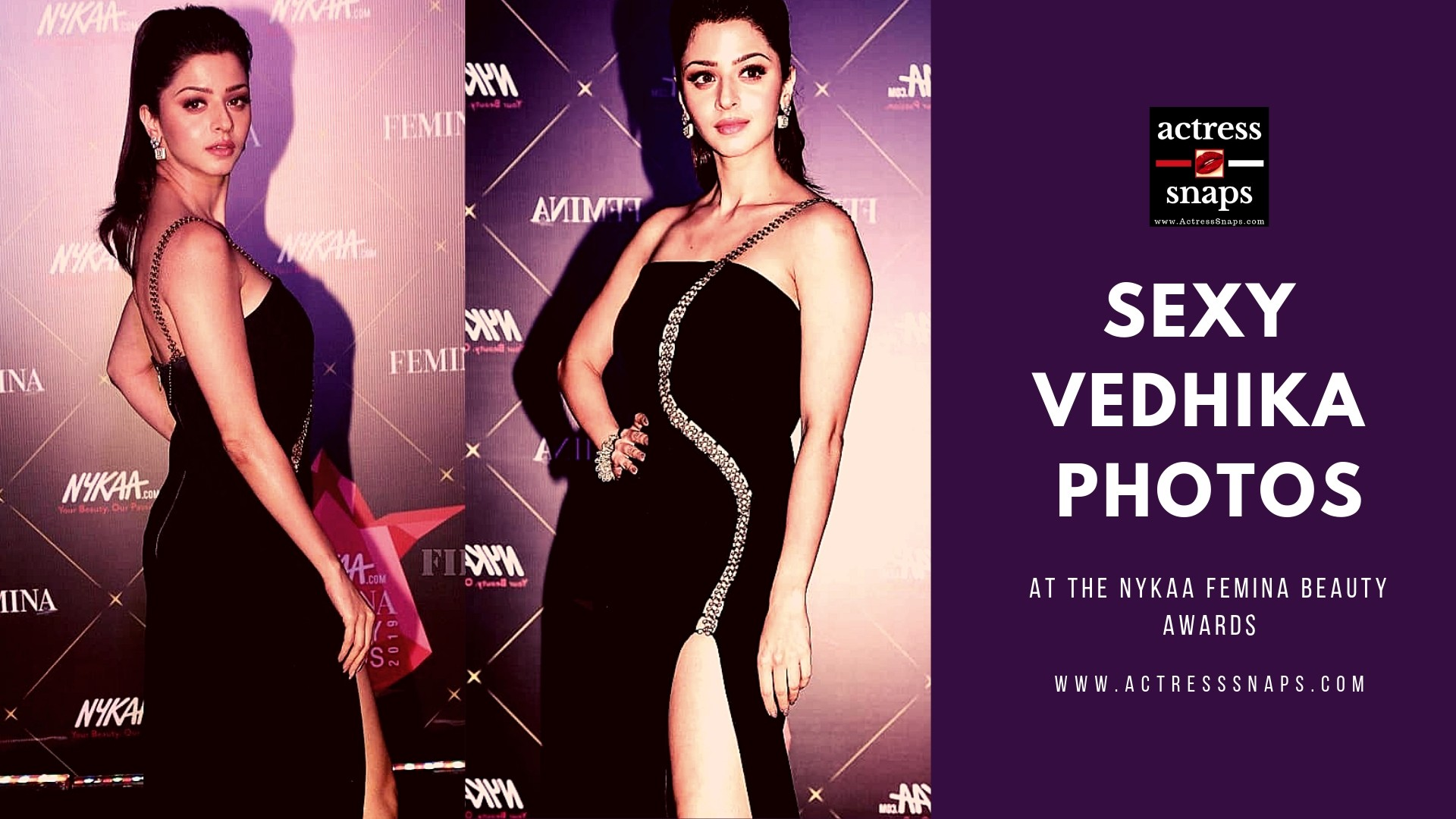 Vedhika Photos from Nyka Femina Awards - Sexy Actress Pictures | Hot Actress Pictures - ActressSnaps.com