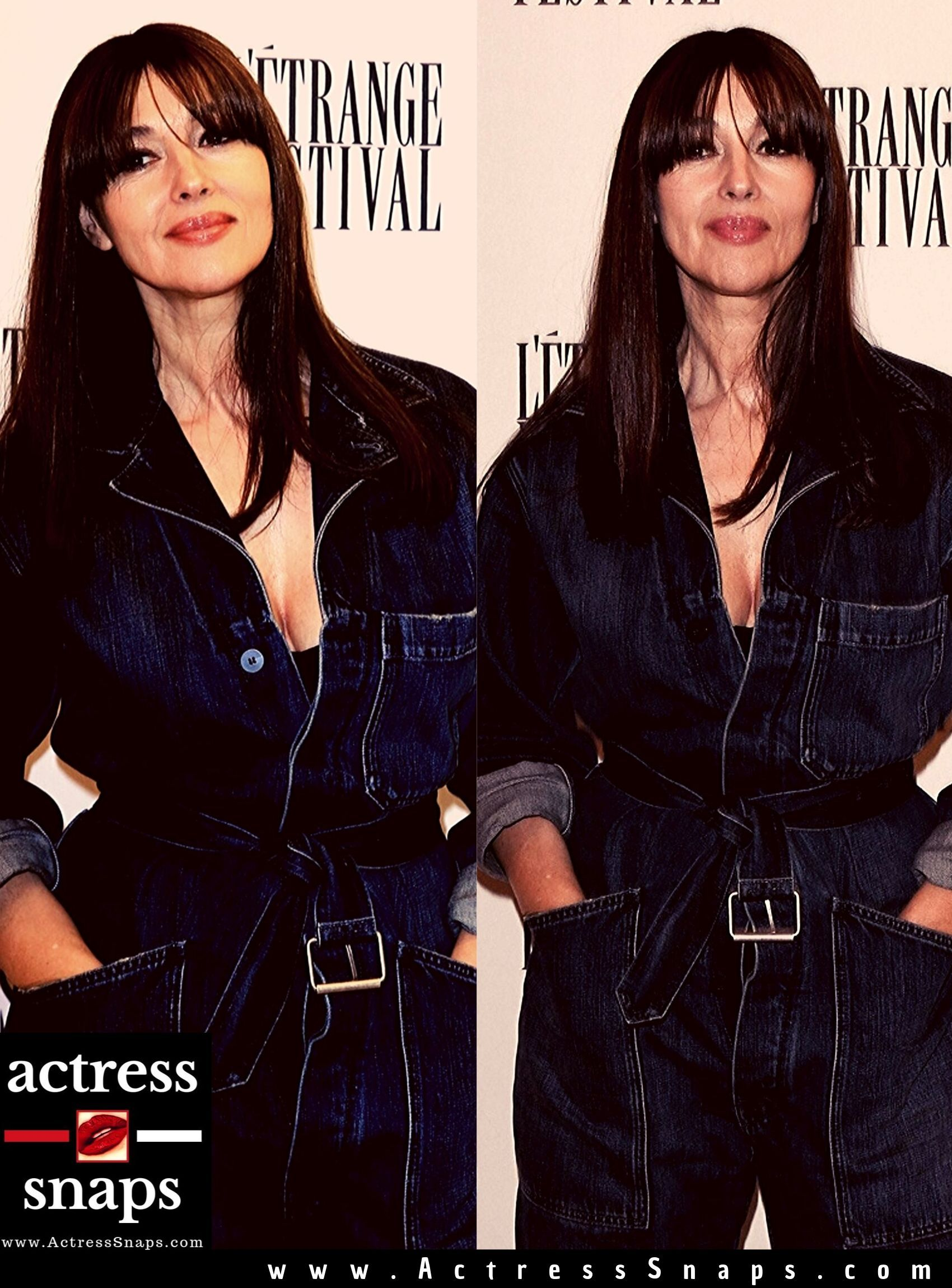 Monica Bellucci - Sexy in Jeans - Sexy Actress Pictures | Hot Actress Pictures - ActressSnaps.com