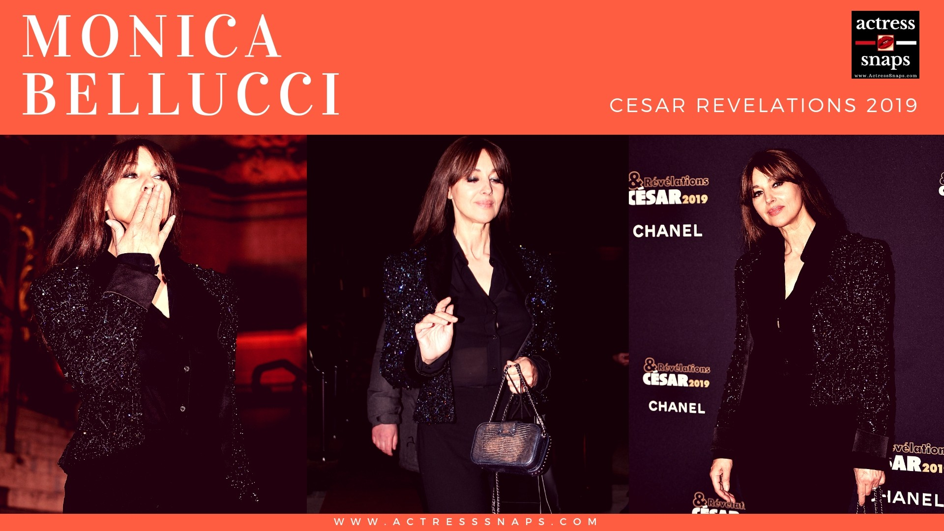 Monica Bellucci - Cesar Revelations 2019 - Sexy Actress Pictures | Hot Actress Pictures - ActressSnaps.com