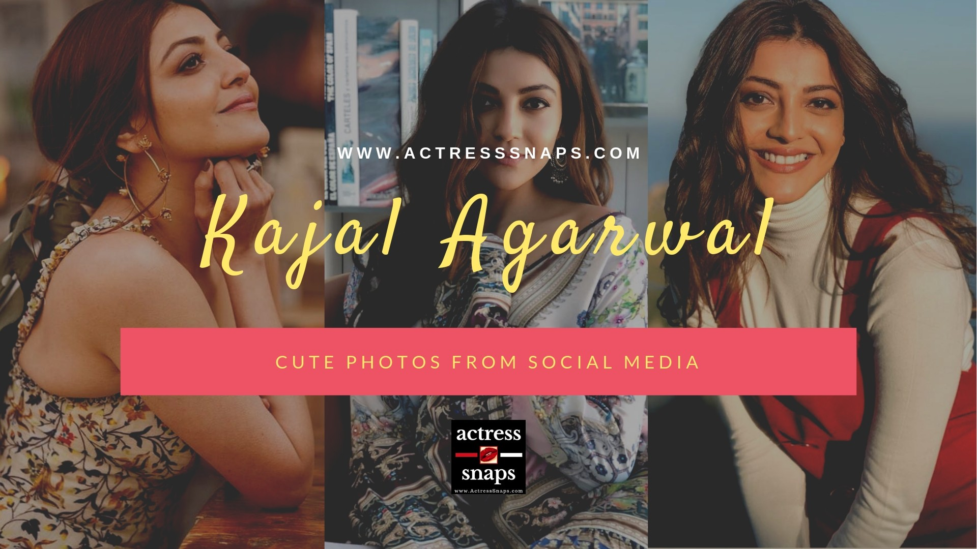Kajal Agarwal - Latest Social Media Photos - Sexy Actress Pictures | Hot Actress Pictures - ActressSnaps.com