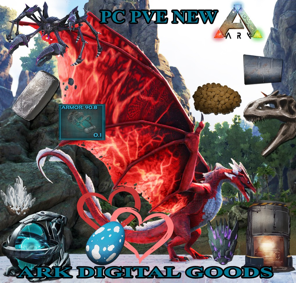 Selling] [HC] PC PVE NEW - SELLING ALL GOODS on ARK