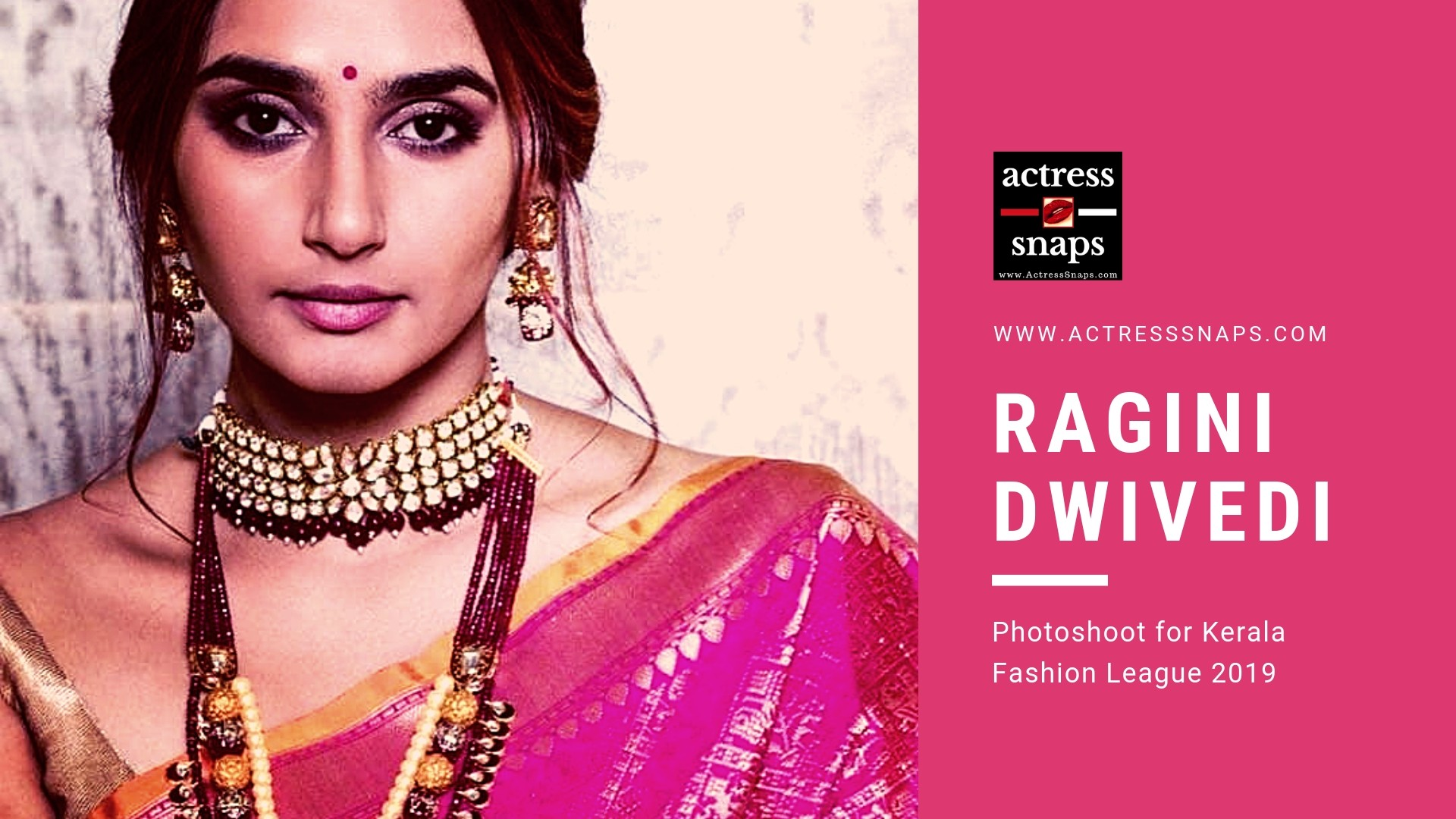 Ragini Dwivedi - Kerala Fashion League 2019 - Sexy Actress Pictures | Hot Actress Pictures - ActressSnaps.com