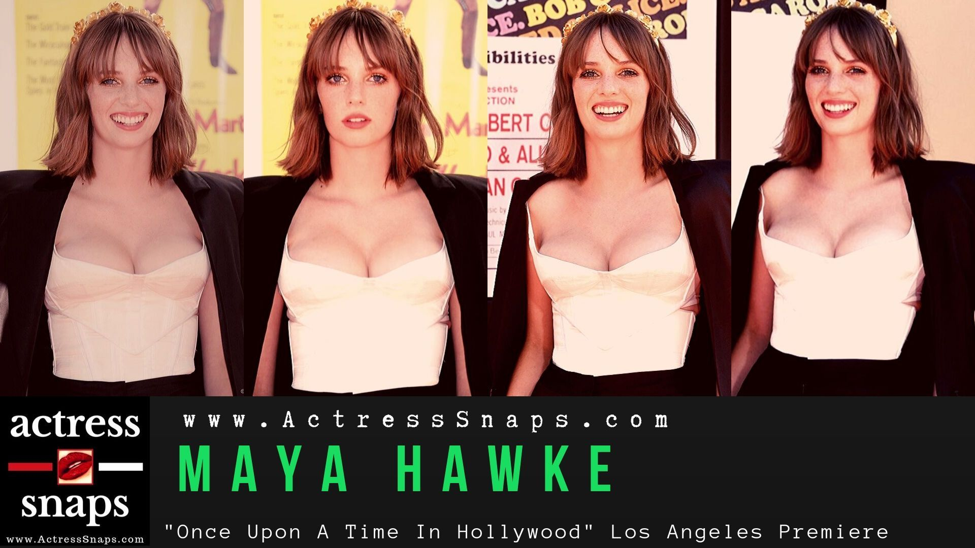 Maya Hawke - Movie Premiere Photos - Sexy Actress Pictures | Hot Actress Pictures - ActressSnaps.com