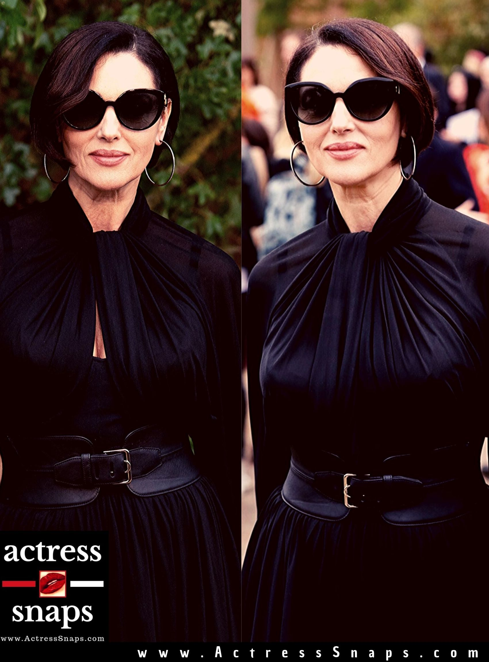 Monica Bellucci - Paris Fashion Week Photos - Sexy Actress Pictures | Hot Actress Pictures - ActressSnaps.com