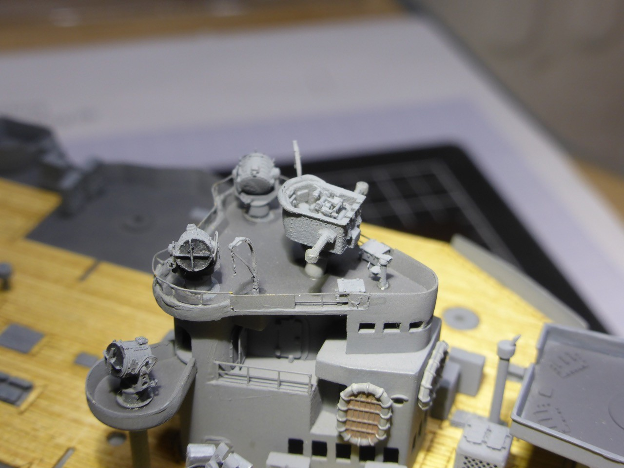 Model Shipwrights :: HMS Hood 1941 - Trumpeter 1/350 ... - photo#35