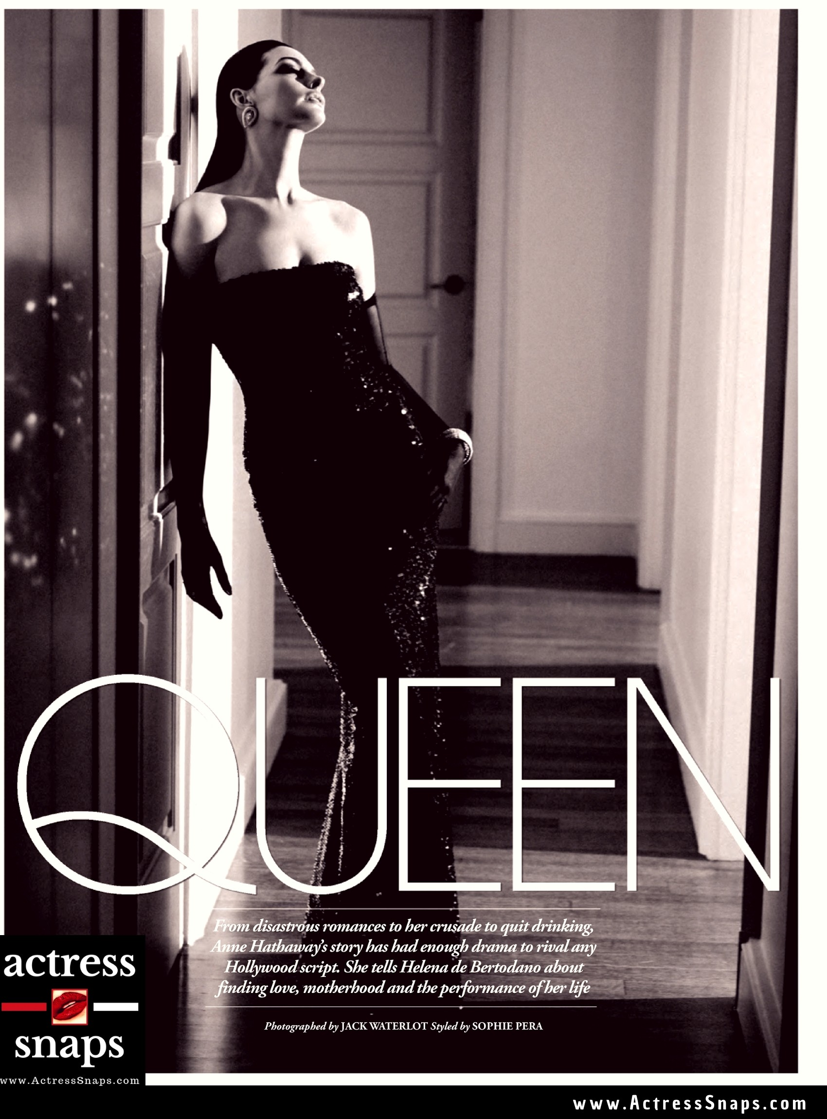 Anne Hathaway - Tatler Magazine Photos - Sexy Actress Pictures | Hot Actress Pictures - ActressSnaps.com