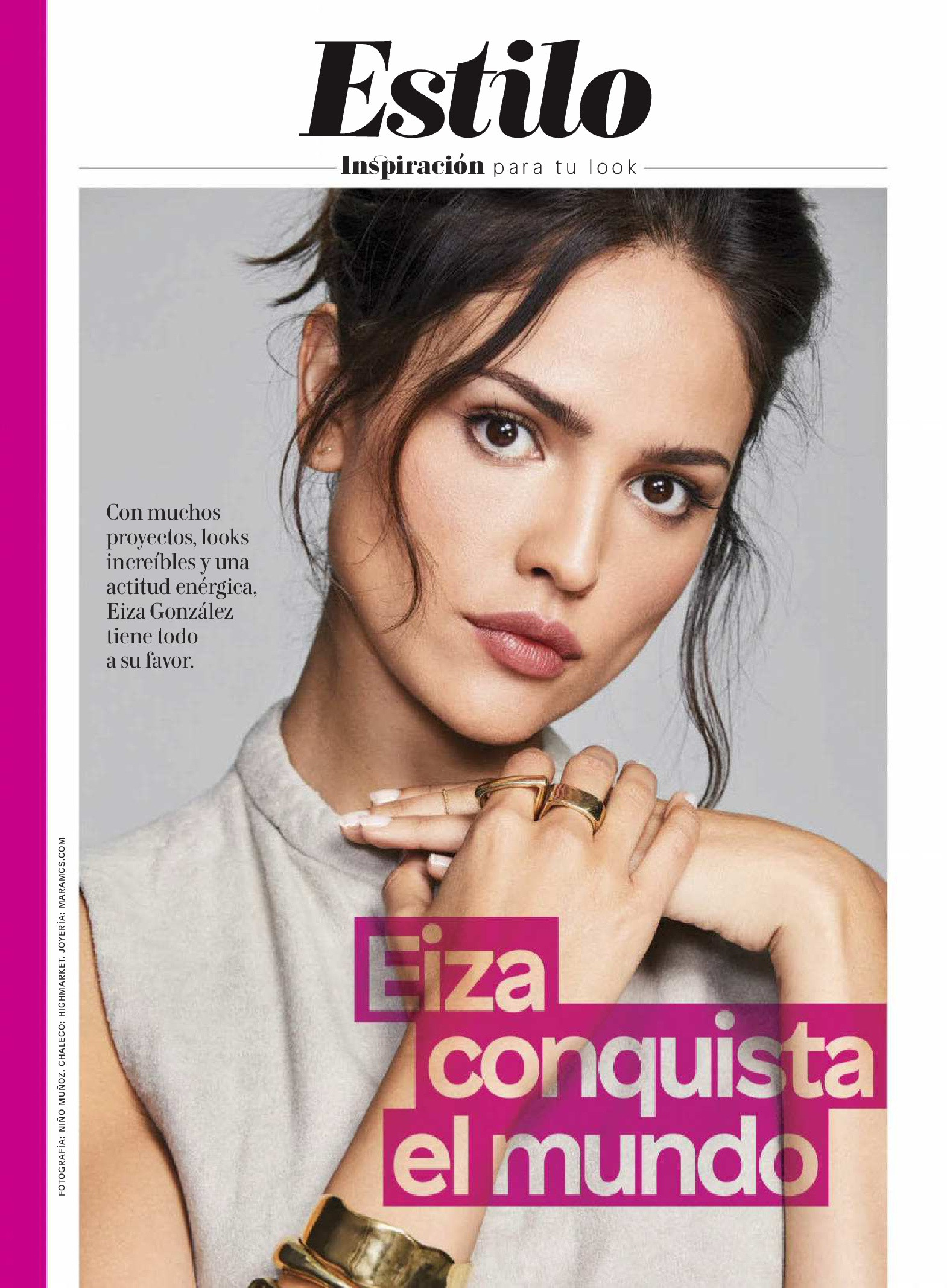 Eiza Gonzalez - Glamour Magazine Scans - Sexy Actress Pictures | Hot Actress Pictures - ActressSnaps.com