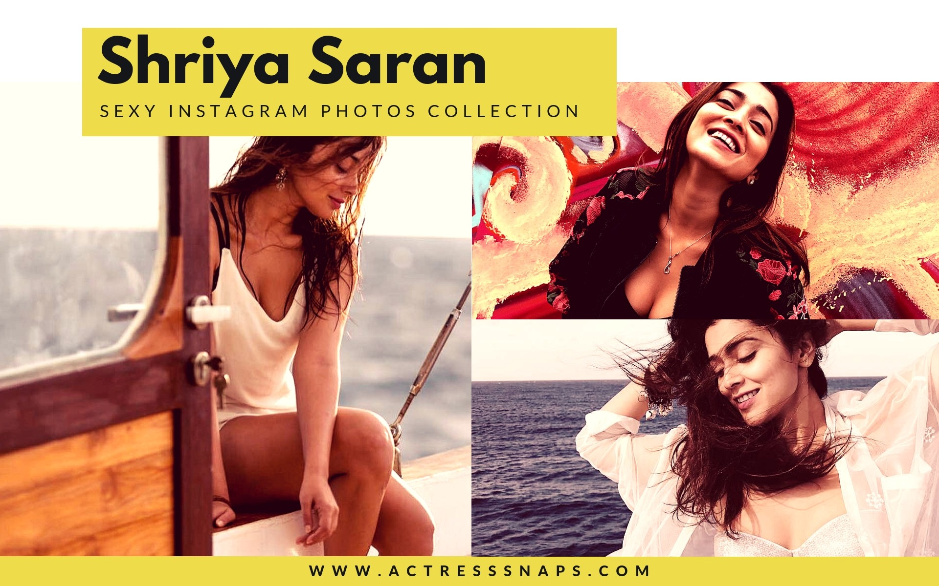 Sexy Shriya Saran Instagram Photos - Sexy Actress Pictures | Hot Actress Pictures - ActressSnaps.com
