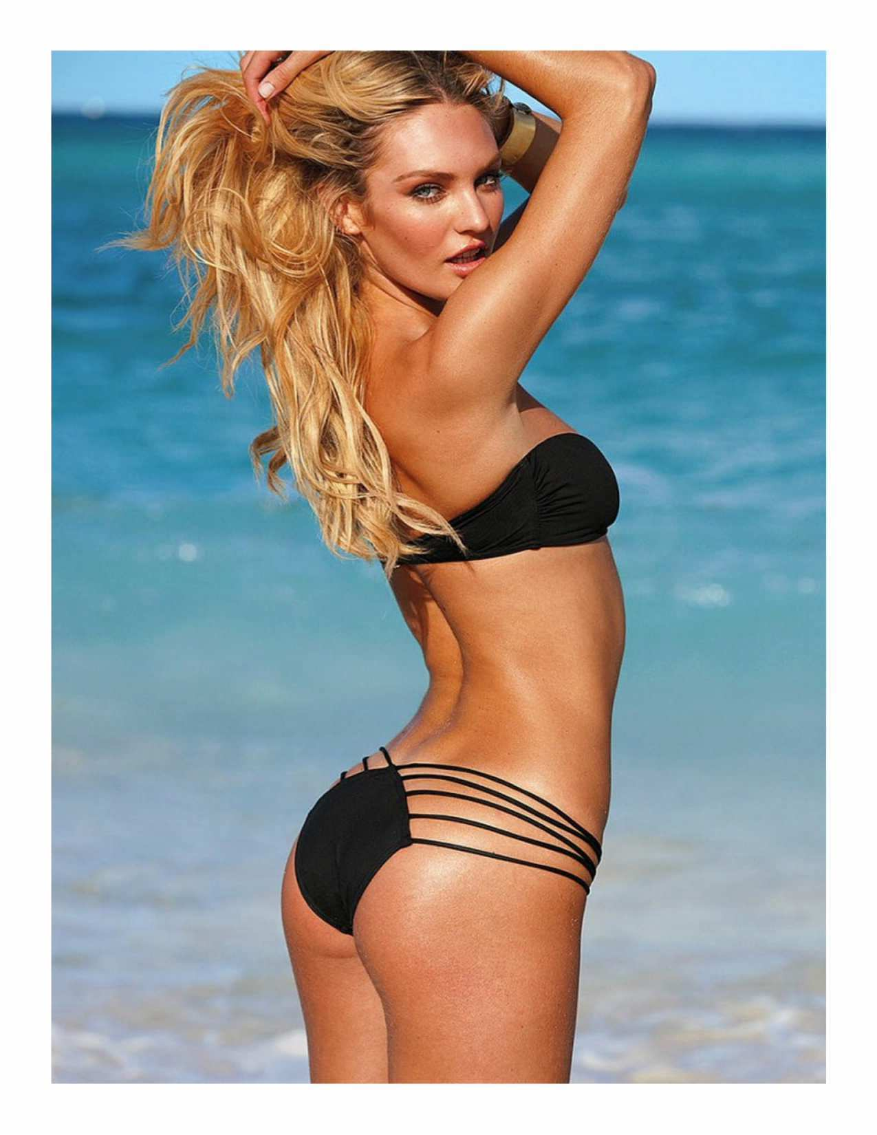 Candice Swanepoel - CoverGirl Magazine Lingerie Photos - Sexy Actress Pictures | Hot Actress Pictures - ActressSnaps.com