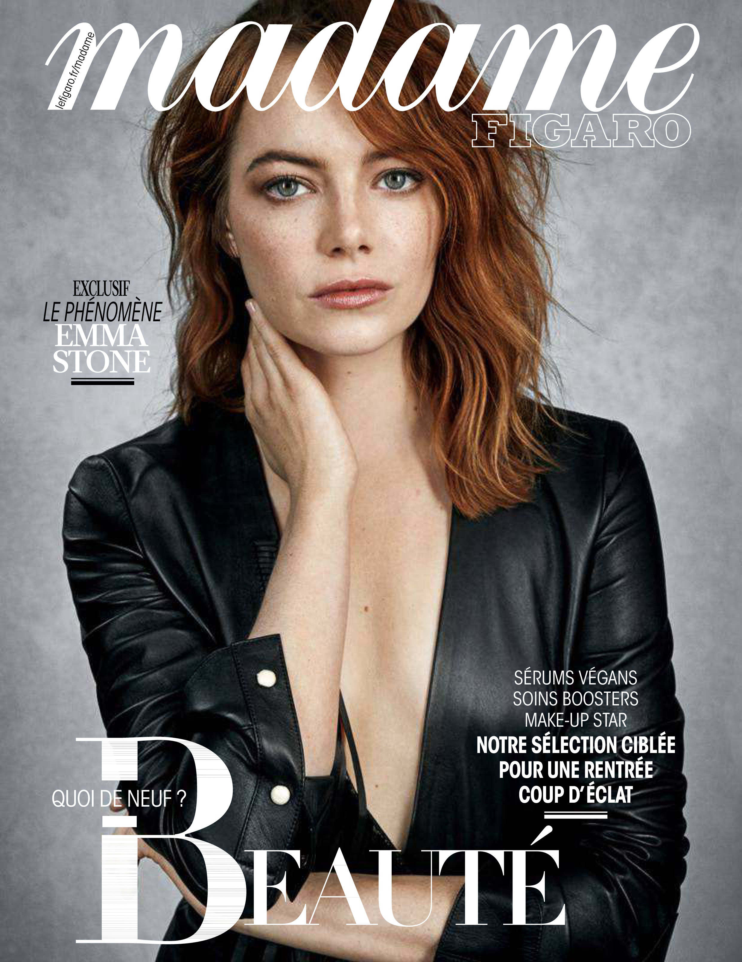 Emma Stone - Madame Figaro Magazine Pictures - Sexy Actress Pictures | Hot Actress Pictures - ActressSnaps.com