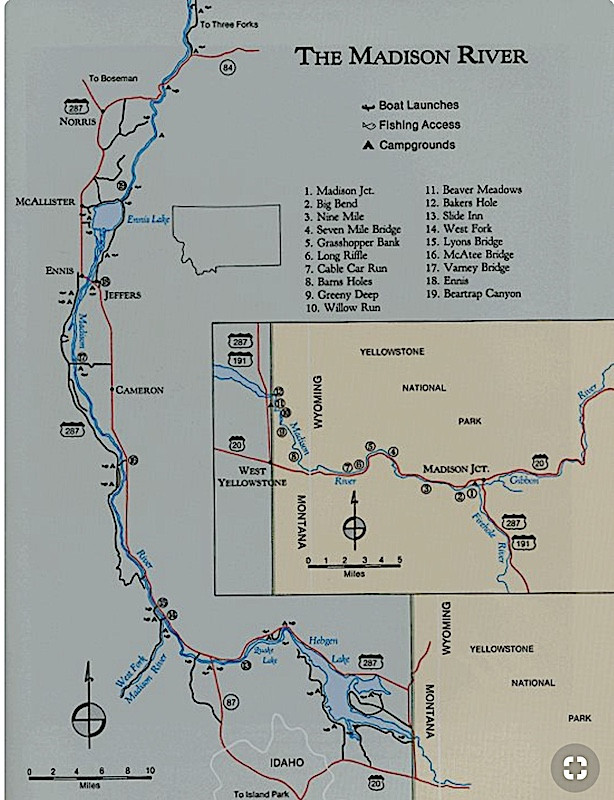 Advice for Ennis area beginning of May on tuscumbia river map, mishawaka river map, yorktown river map, albion river map, montana rivers map, poquoson river map, sunflower river map, salem river map, maries river map, quad cities river map, cannonball river map, st. augustine river map, eugene river map, fluvanna river map, firehole river map, seattle river map, gallatin river map, hebgen lake map, folsom river map, waukesha county river map,