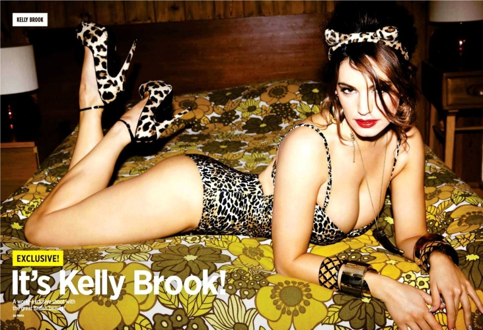 Hot Kelly Brook - Nuts Magazine Scans - Sexy Actress Pictures | Hot Actress Pictures - ActressSnaps.com