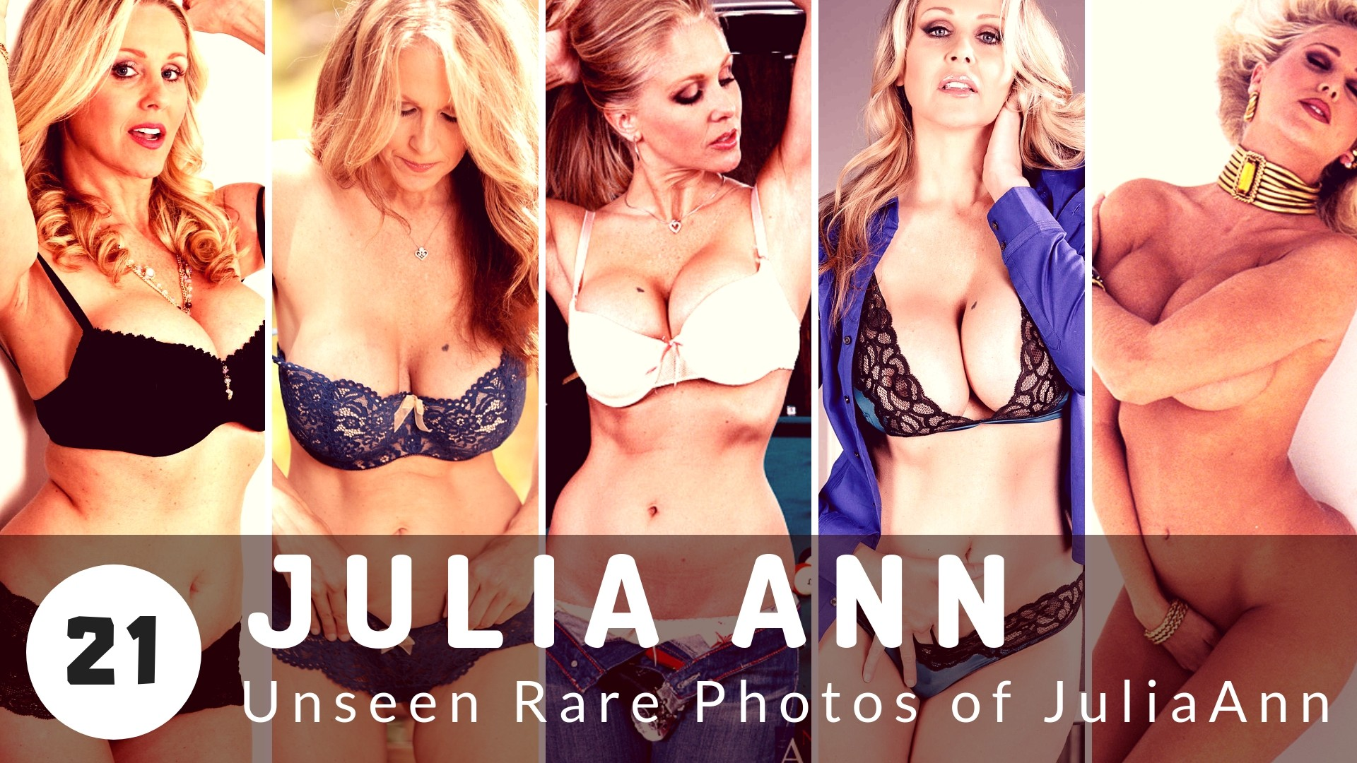 Some of the Rarest Pictures of Julia Ann, your Favorite Porn Star